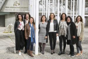 As arquitectas e as designers convidadas para darem vida a este hotel com Fátima Vila Maior (ao centro) Créditos: Frame it